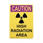 Caution High Radiation Area